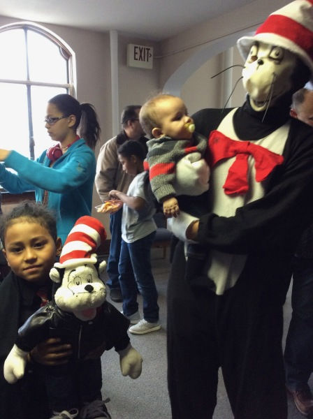 Dr. Suess Visits GWC
